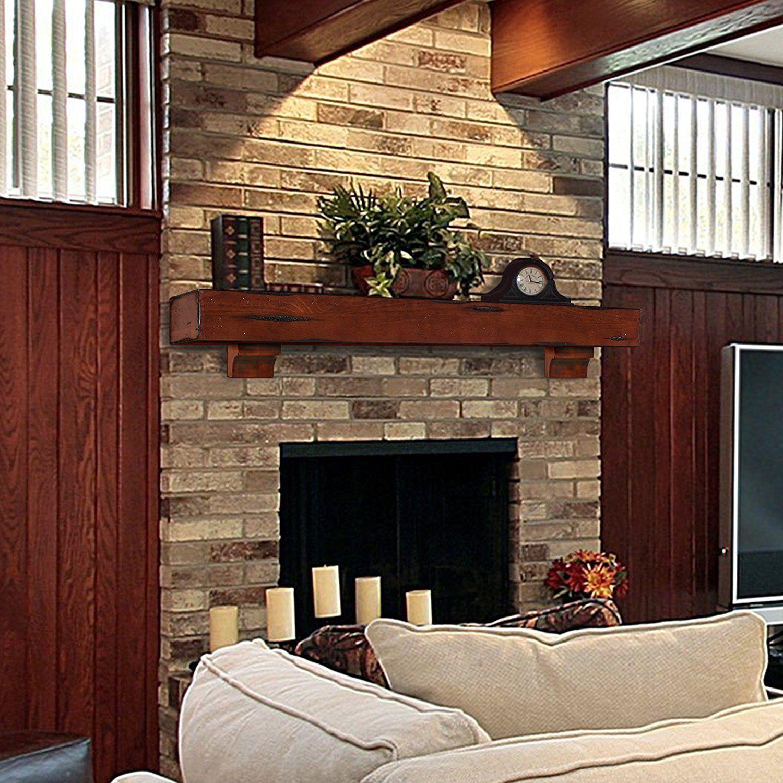 40 elegant fireplace makeover for farmhouse home decor