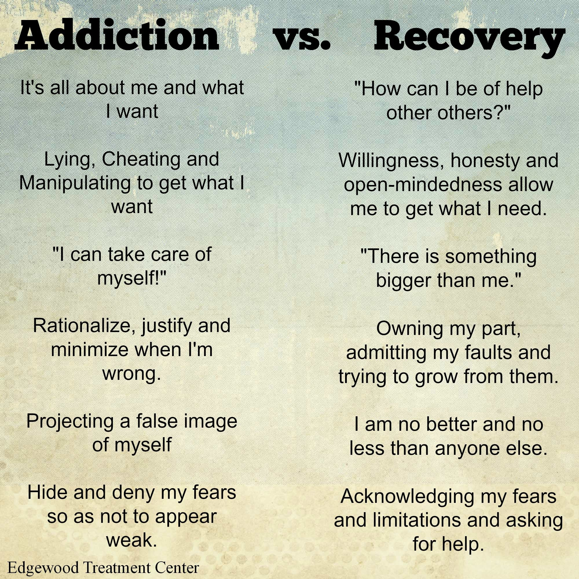 addiction vs recovery | inspirational | addiction recovery, recovery