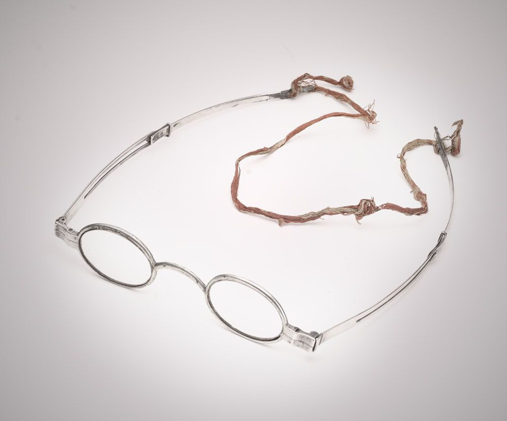 c56c63eeea6 McAllister Phila 19th cent. Early American coin silver eyeglasses spectacles  by SearchEndsHere on Etsy
