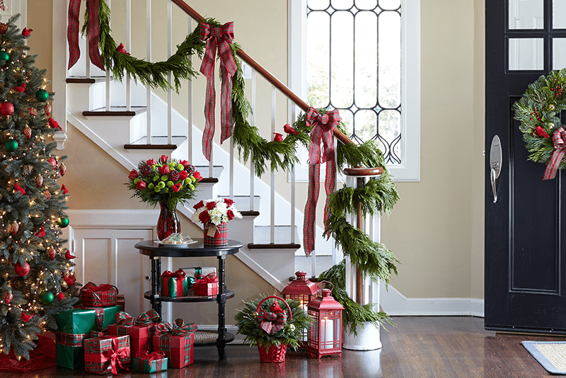 How To Hang Garland Step By Step Guide Christmas Banister