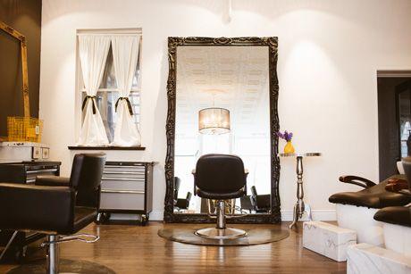 cosy hair salon decor - Google Search