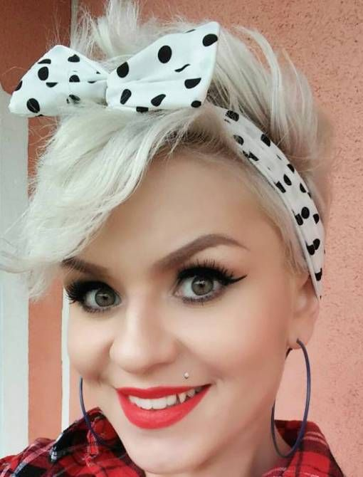 40 Pin Up Hairstyles for the Vintage-Loving Girl | Pinterest | Short ...