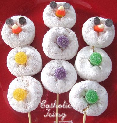 Snowman Donut Pops And A Matching Poem To Teach Kids About The Trinity