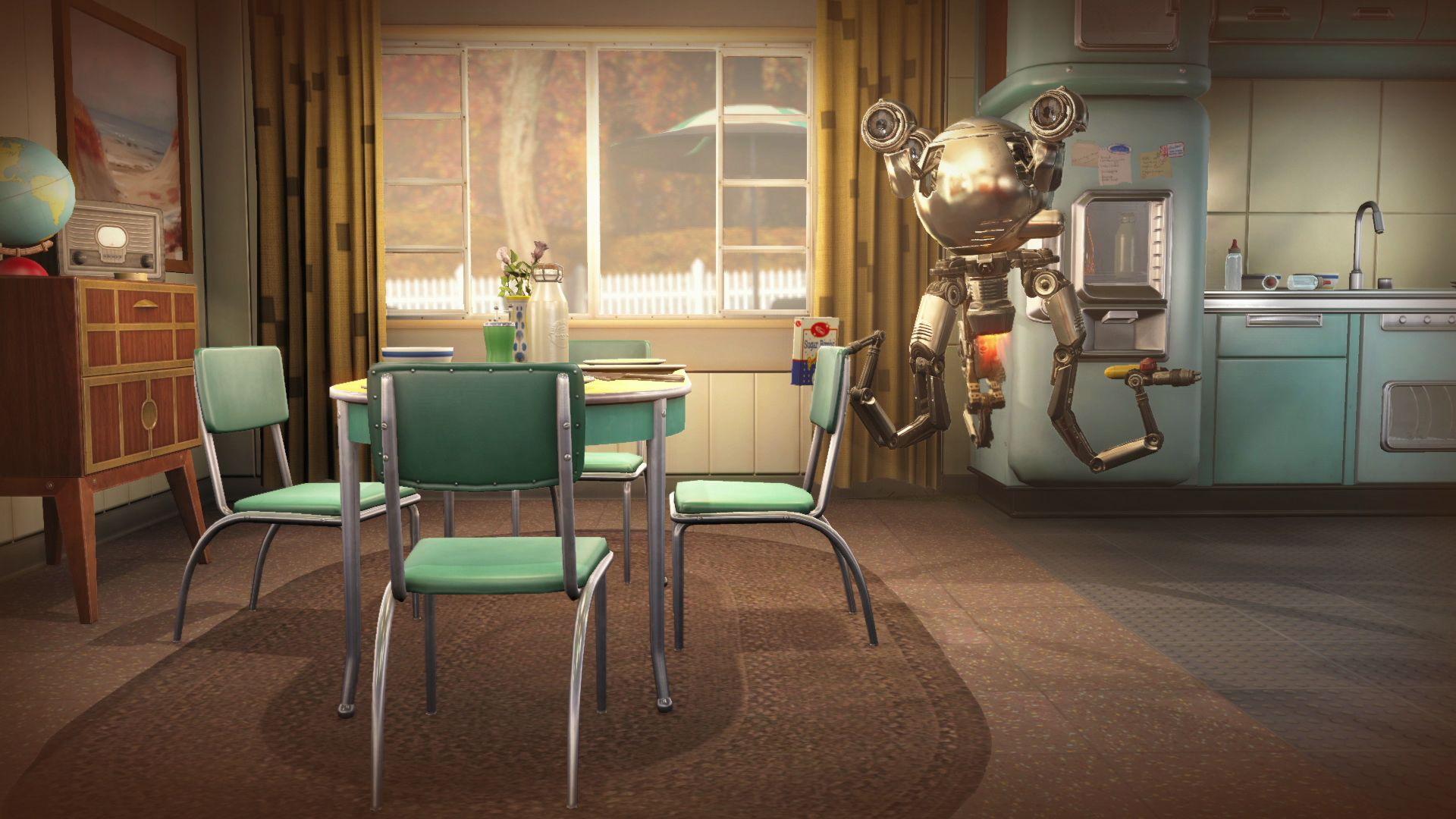 Nurse Robot Video Game Fallout 4 Wallpaper HD 2015
