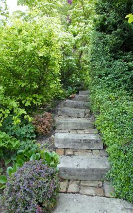 Mit Naturstein den Garten gestalten Natural stones and Staircases - garten mit natursteinen gestalten