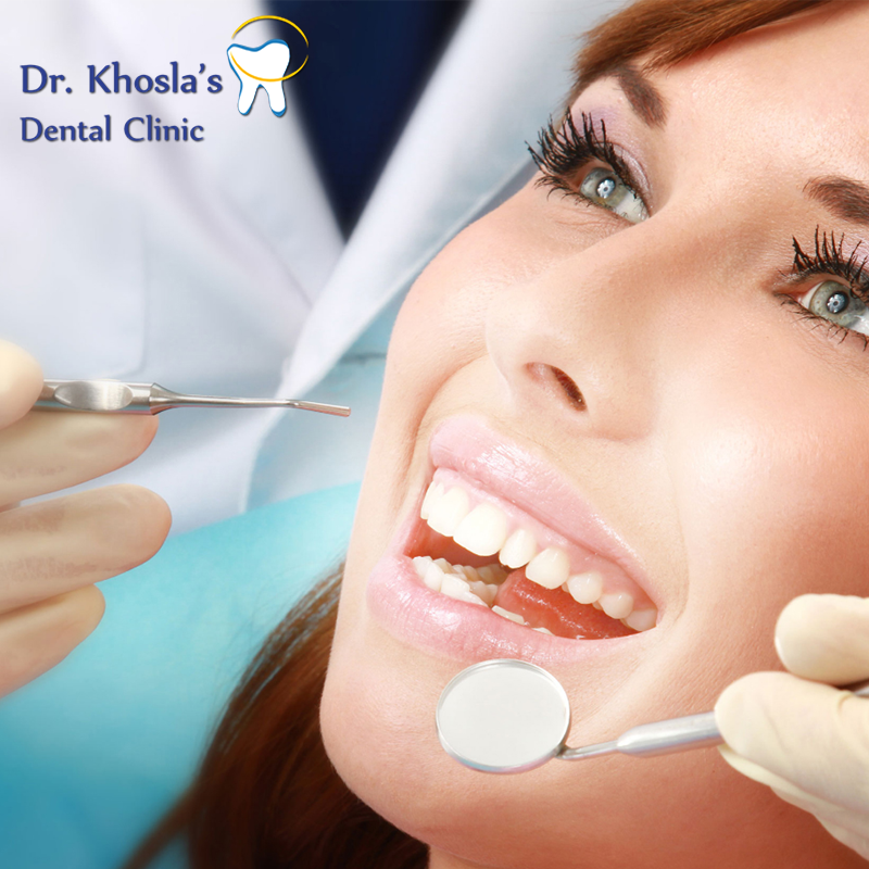 Dr Khosla Dental Clinic Is A Team Of Experienced Cosmetic Dentist In Delhi And Gurgaon Offers World Clas Cosmetic Dentist Dental Cosmetics Cosmetic Dentistry
