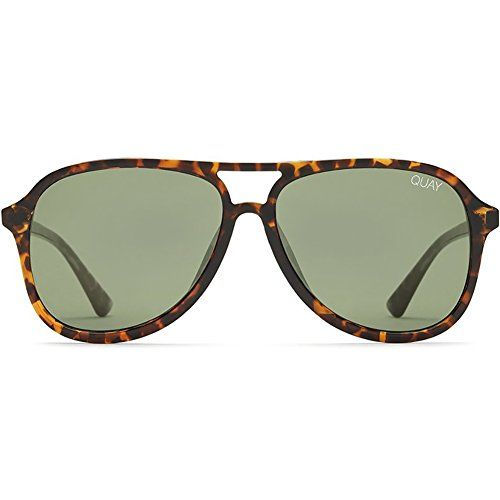 edf6359d48 Quay Australia Magnetic Sunglasses in Tortoise Green