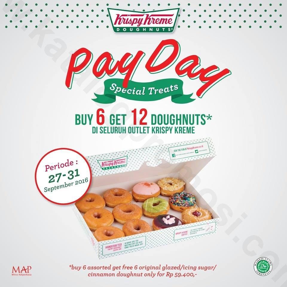 Image result for payday promotion Krispy kreme, Glaze