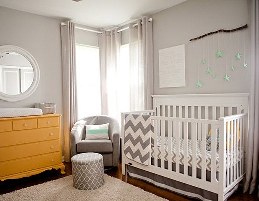 baby nursery yellow grey gender neutral. how to create a gender neutral nursery yellow dresser mint accents chevron quilt white crib grey babyletto rocker baby r