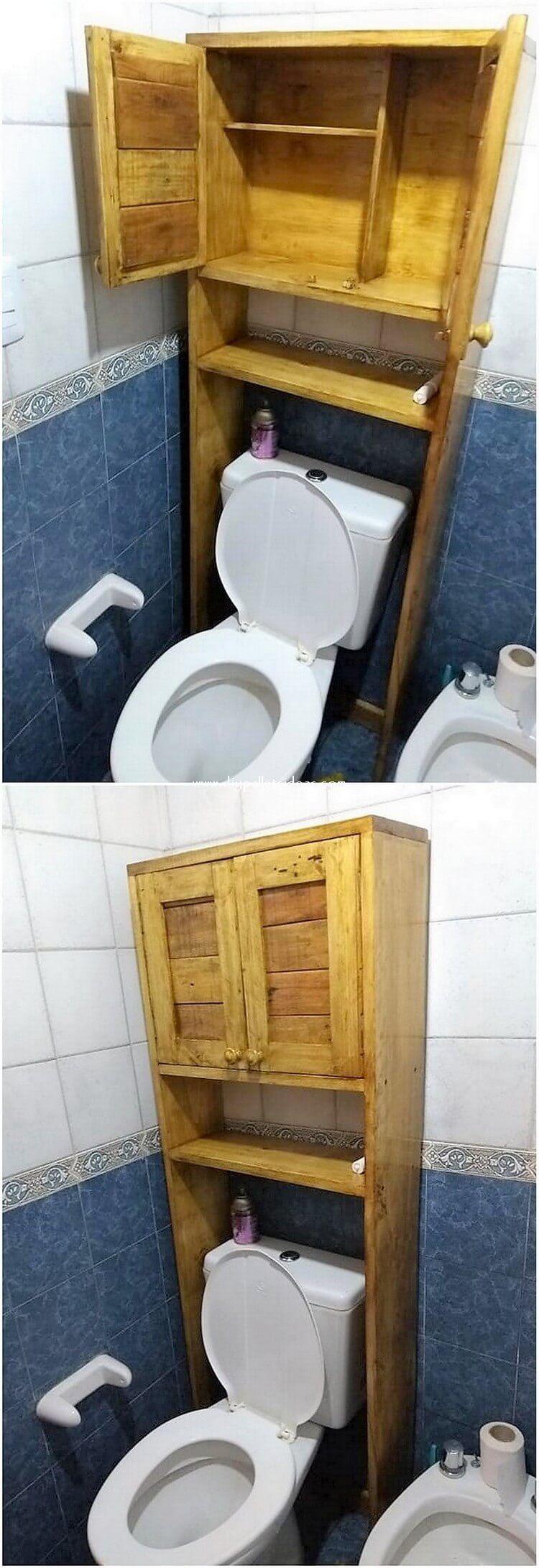 Bathroom Cabinet Black
