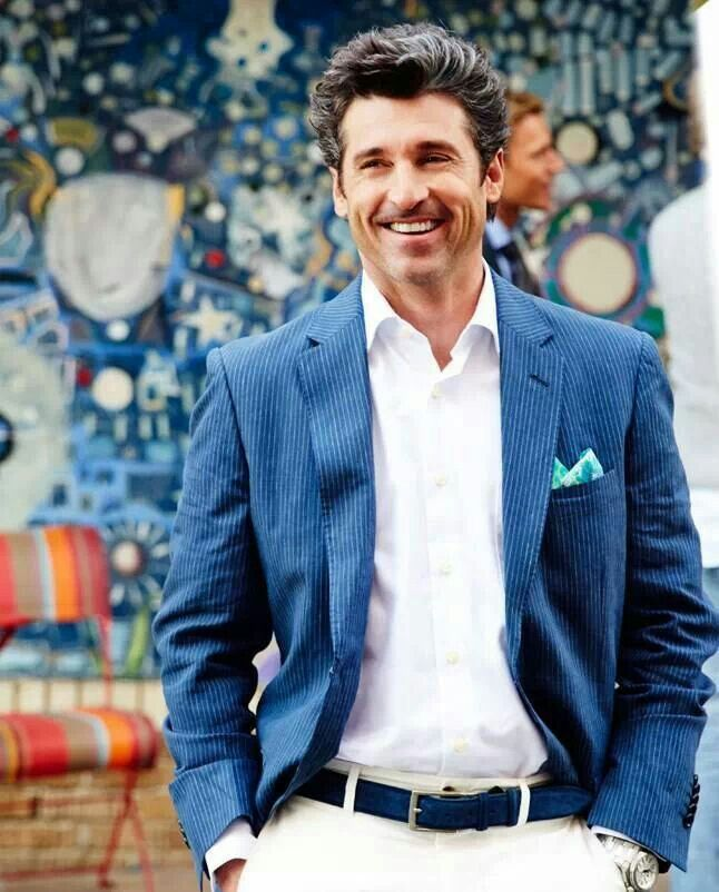 Patrick Dempsey...when the sky smiles....!!! | Patty D. | Pinterest ...