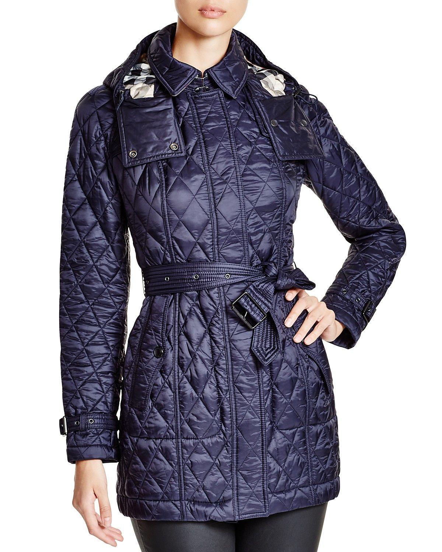 Burberry Finsbridge Coat Women Bloomingdale S Checked Jacket Coat Long Quilted Coat