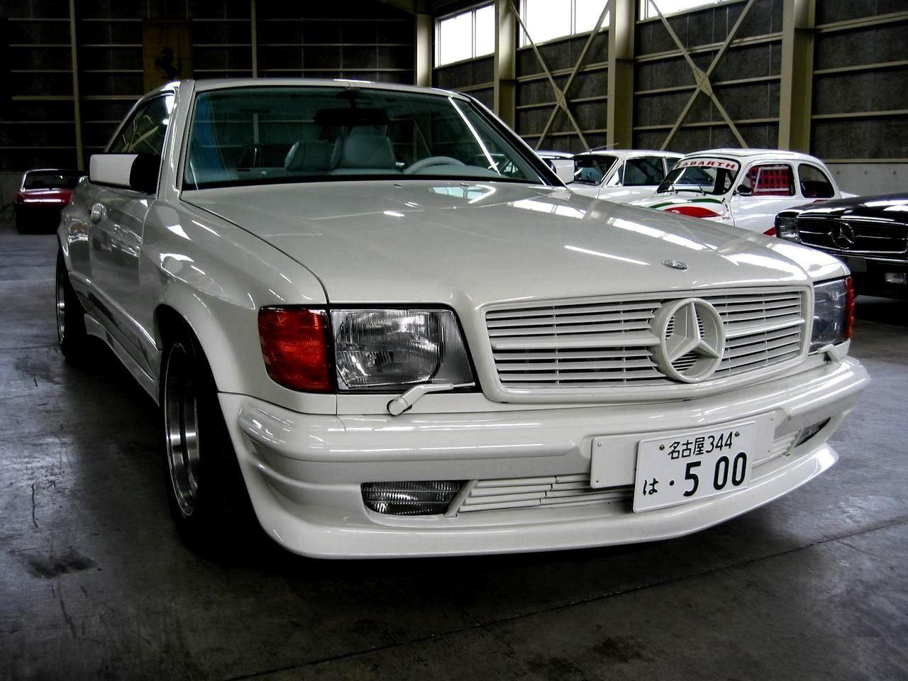 How many amg 6 0 4v w126 sec and sel cars were built amg side shot - Mercedes Benz W126 560 Sec Amg 6 0 Dohc