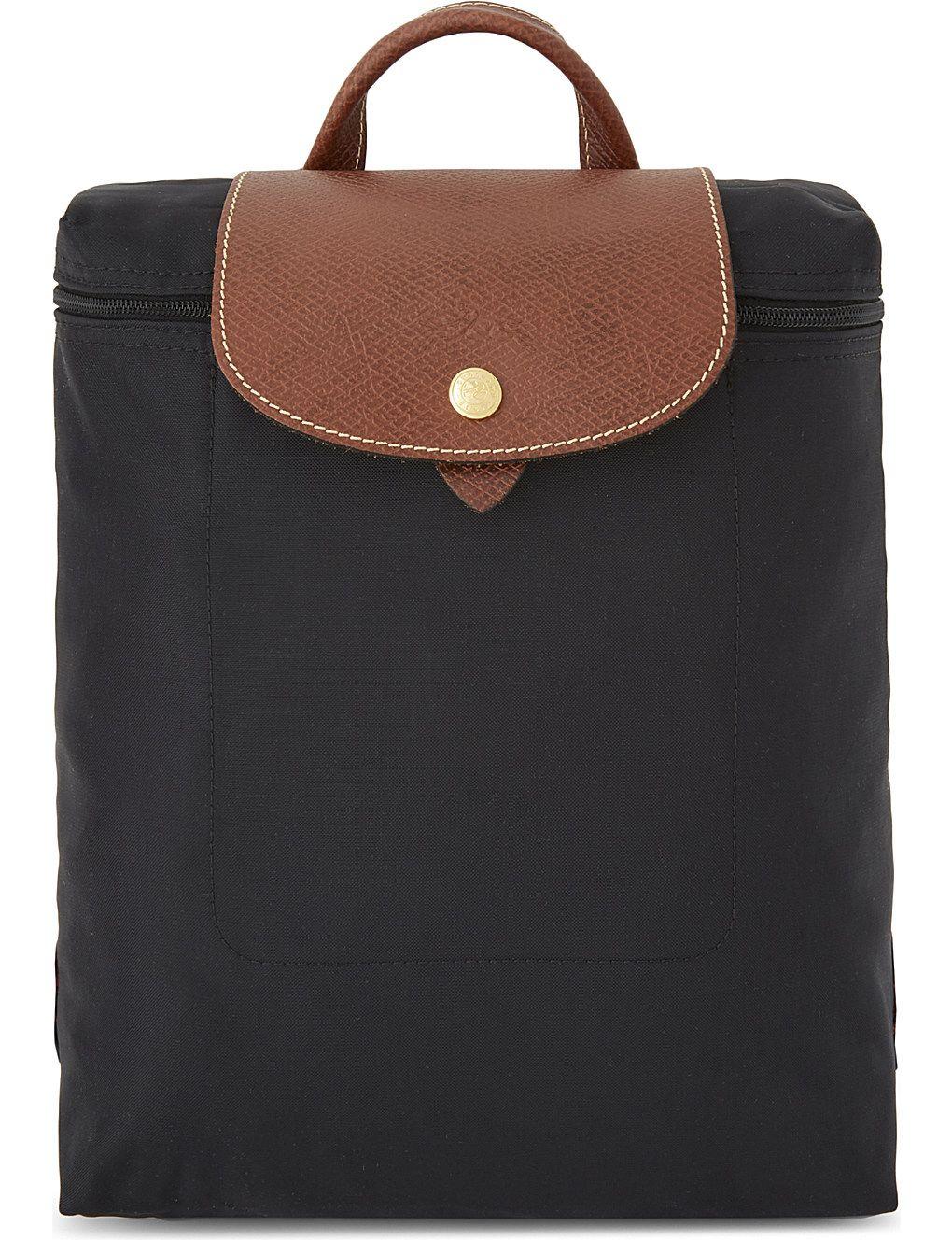 dbf89dde3d4 Le Pliage Nylon Canvas Backpack