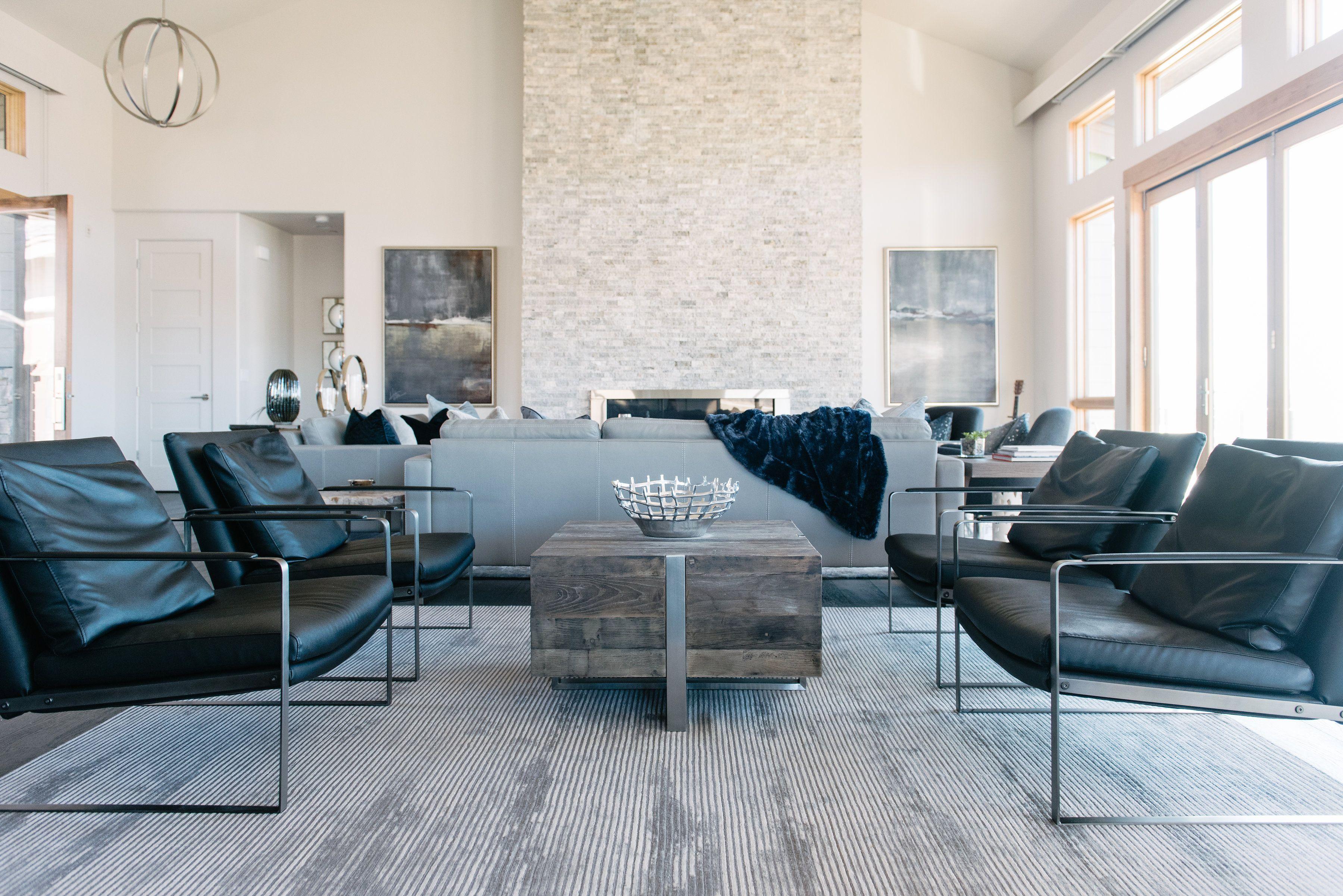 Modern mountain home living room living room ideas living room decor modern