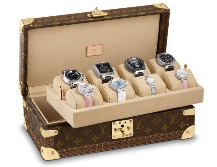 estuche para relojes de louis vuitton es el objeto ms elegante para resguardar una coleccin
