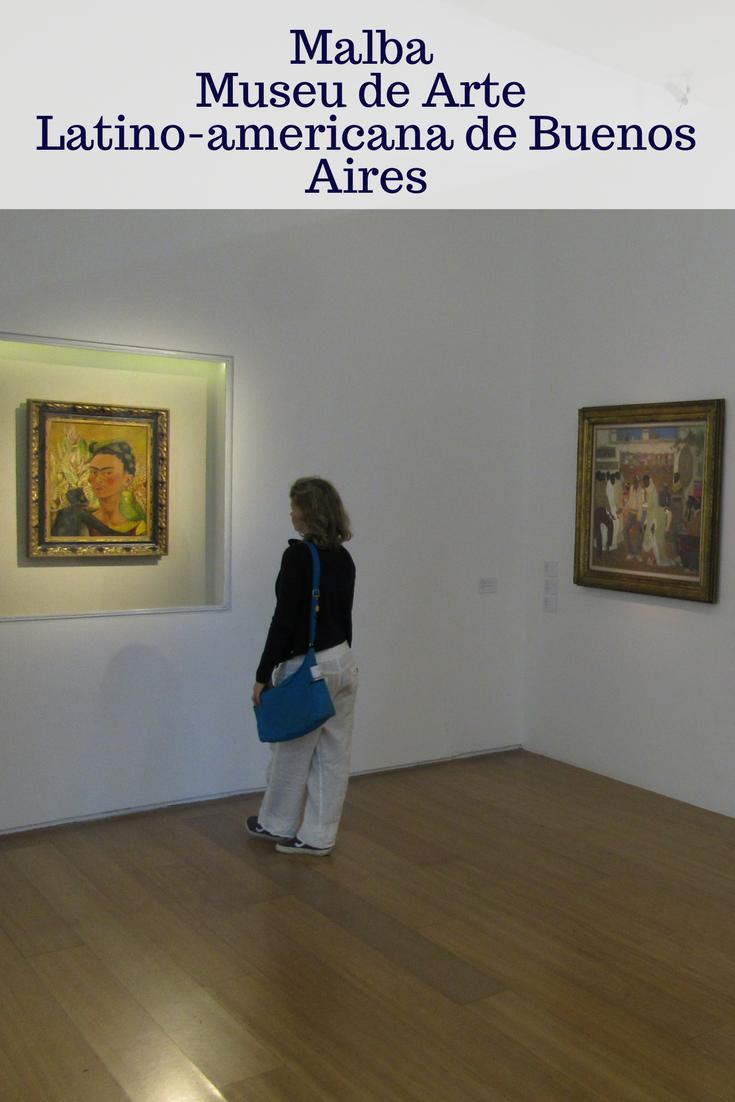 O MALBA – #Museu de Arte Latino-americana de Buenos Aires abriga exposições temporárias e permanentes. O acervo de arte latino-americana é maravilhoso. #Argentina #viajar #viajantesempressa
