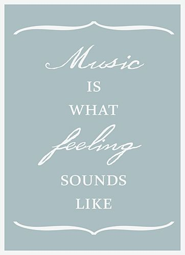 ~for us music lovers!