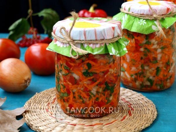 Заправка для супа из помидоров и сладкого перца без варки