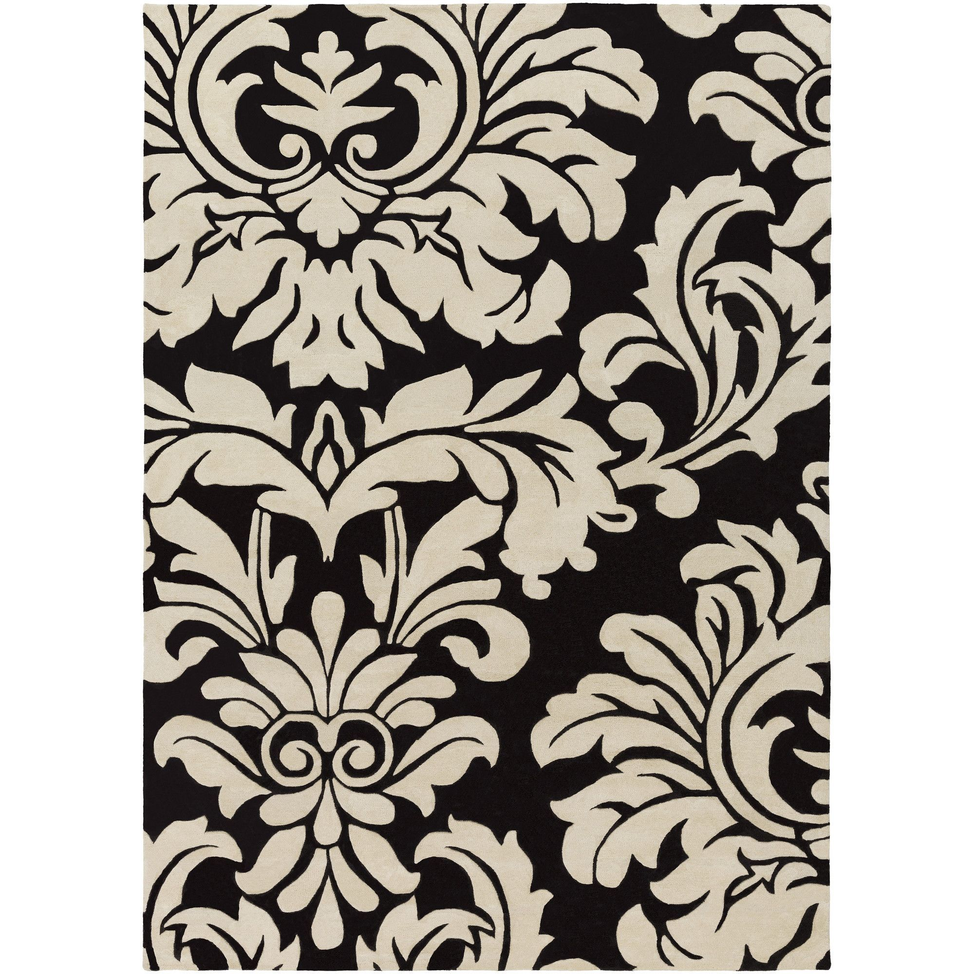 black and white rug patterns. Athena Hand-Tufted Black/White Area Rug Black And White Patterns