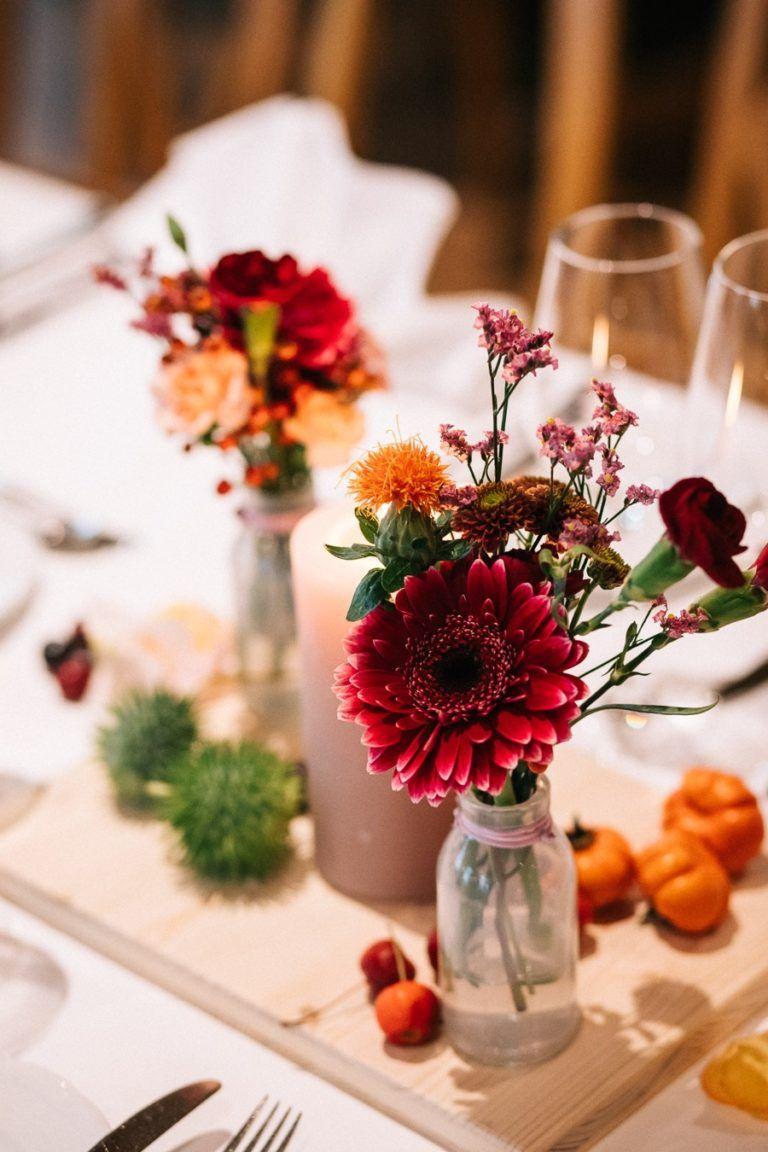 Ideen Fur Eine Herbstliche Hochzeit Herbsthochzeit Tischdeko Hochzeit Hochzeit Herbst