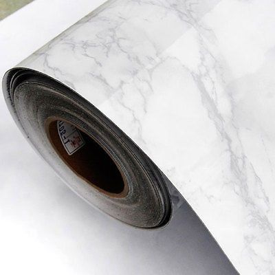 Details About Grey Marble Contact Wallpaper Self Adhesive Peel