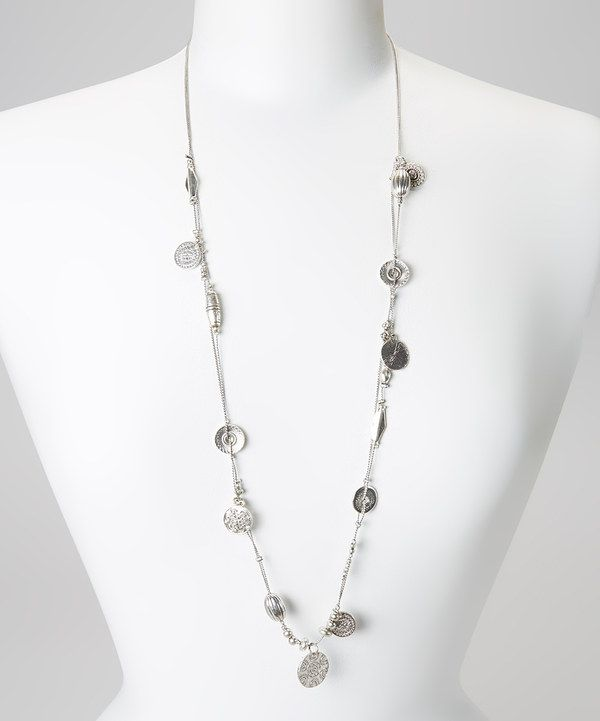 Love this Silver Bead Strand Necklace by Fantasy World Jewelry on #zulily! #zulilyfinds