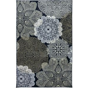 Mohawk Home Threaded Medallion Printed Area Rug Water