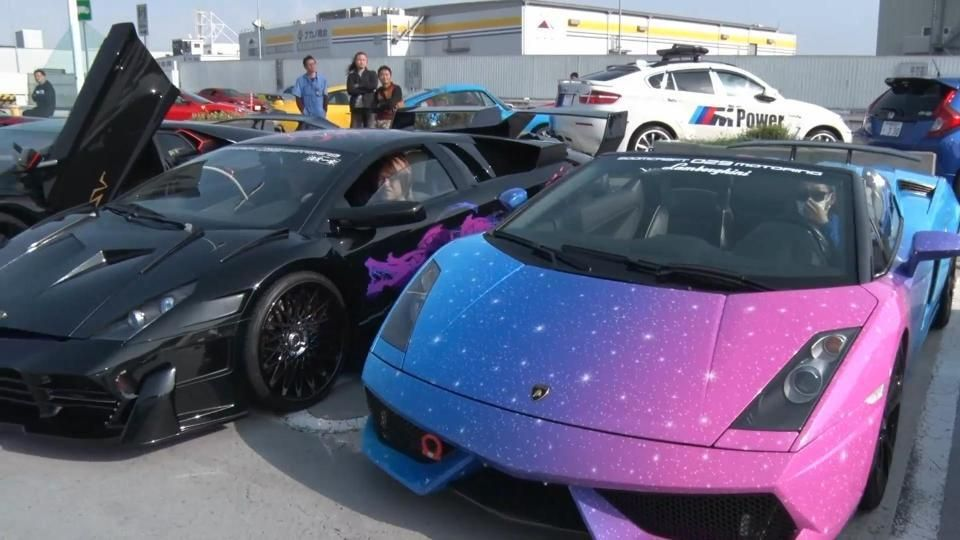 Million Dollar Cars >> Epic 10 Million Dollar Lamborghini Car Meet In Japan