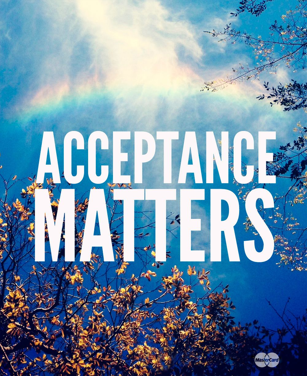 Pride. Period. #AcceptanceMatters art by #justinablakeney #commissionedbymastercard