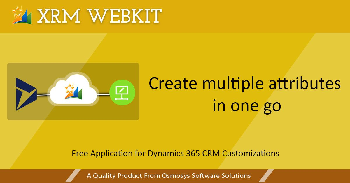 XRM Webkit is a web application which best suits the employees who work on the Microsoft Dynamics CRM organizations. It usually takes more time for doing customizations in a Microsoft Dynamics CRM organization. So we came up with a solution. XRM Webkit increases the efficiency through automation.