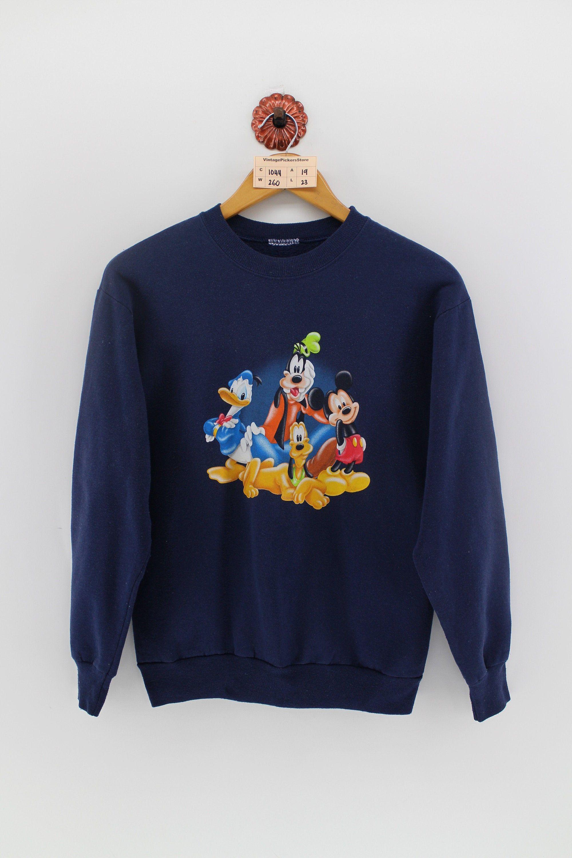 Mickey Mouse Sweatshirts Women Medium Vintage 90s Disney Etsy Sweatshirts Women Mickey Mouse Sweatshirt Sweatshirts [ 3000 x 2000 Pixel ]
