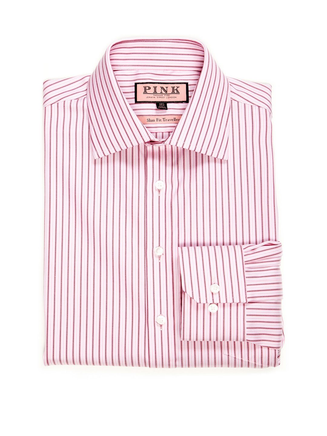 1cfe4588e468 Rhodes Slim Fit Traveller Stripe Dress Shirt by Thomas Pink at Gilt ...