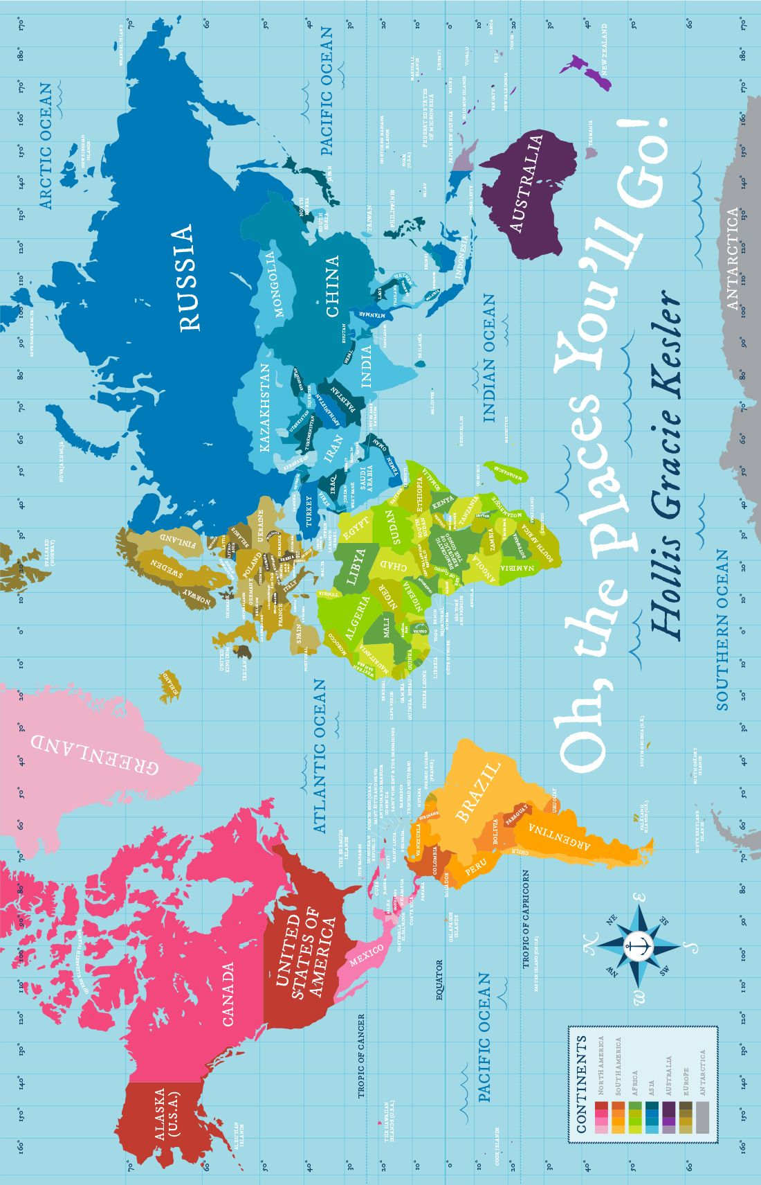 Love this oragnic world map quilteven has a continent key for love this oragnic world map quilteven has a continent key for gumiabroncs Choice Image
