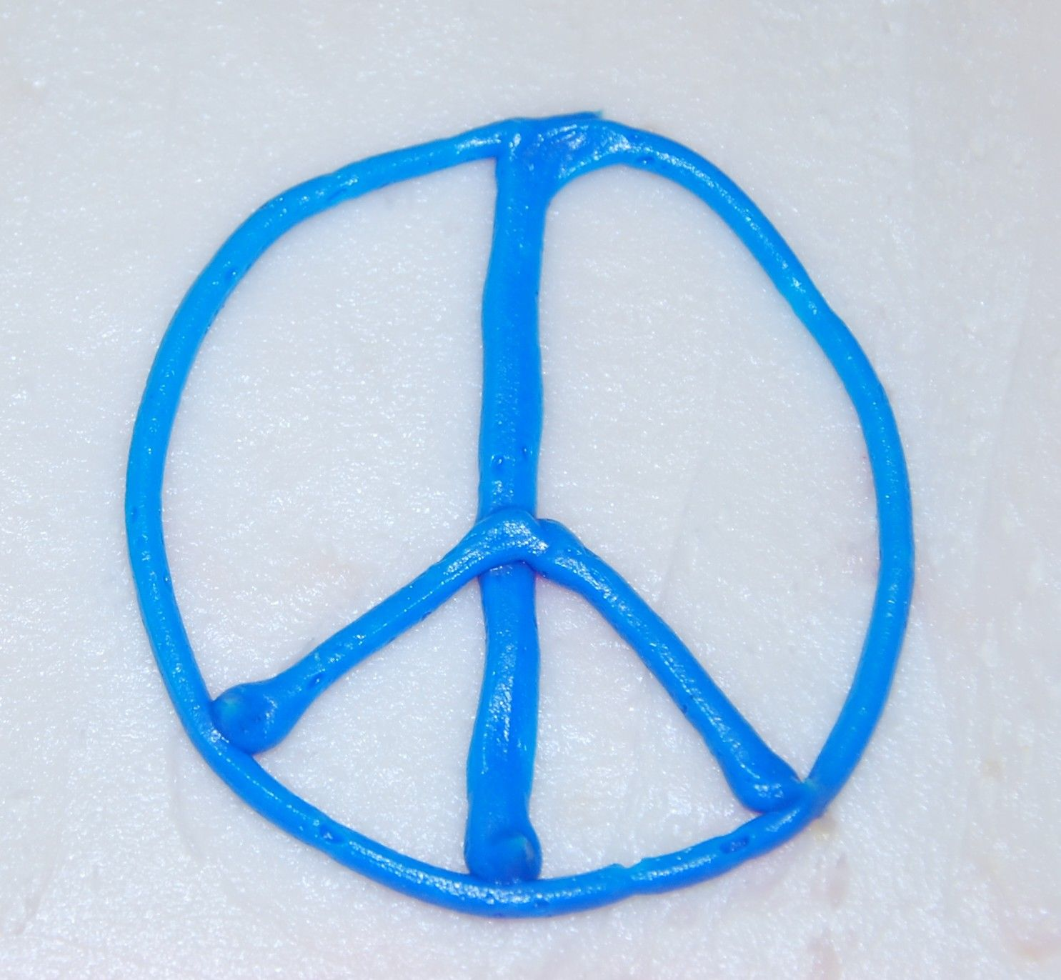 My birthday cake peace sign :)