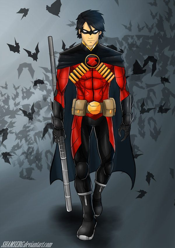 Robin in dc Begleitung
