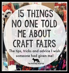 Tips for a Successful Craft Fair Part 2 #craftfairs