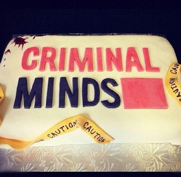 Criminal minds cake Spencer Reid Criminal Minds t