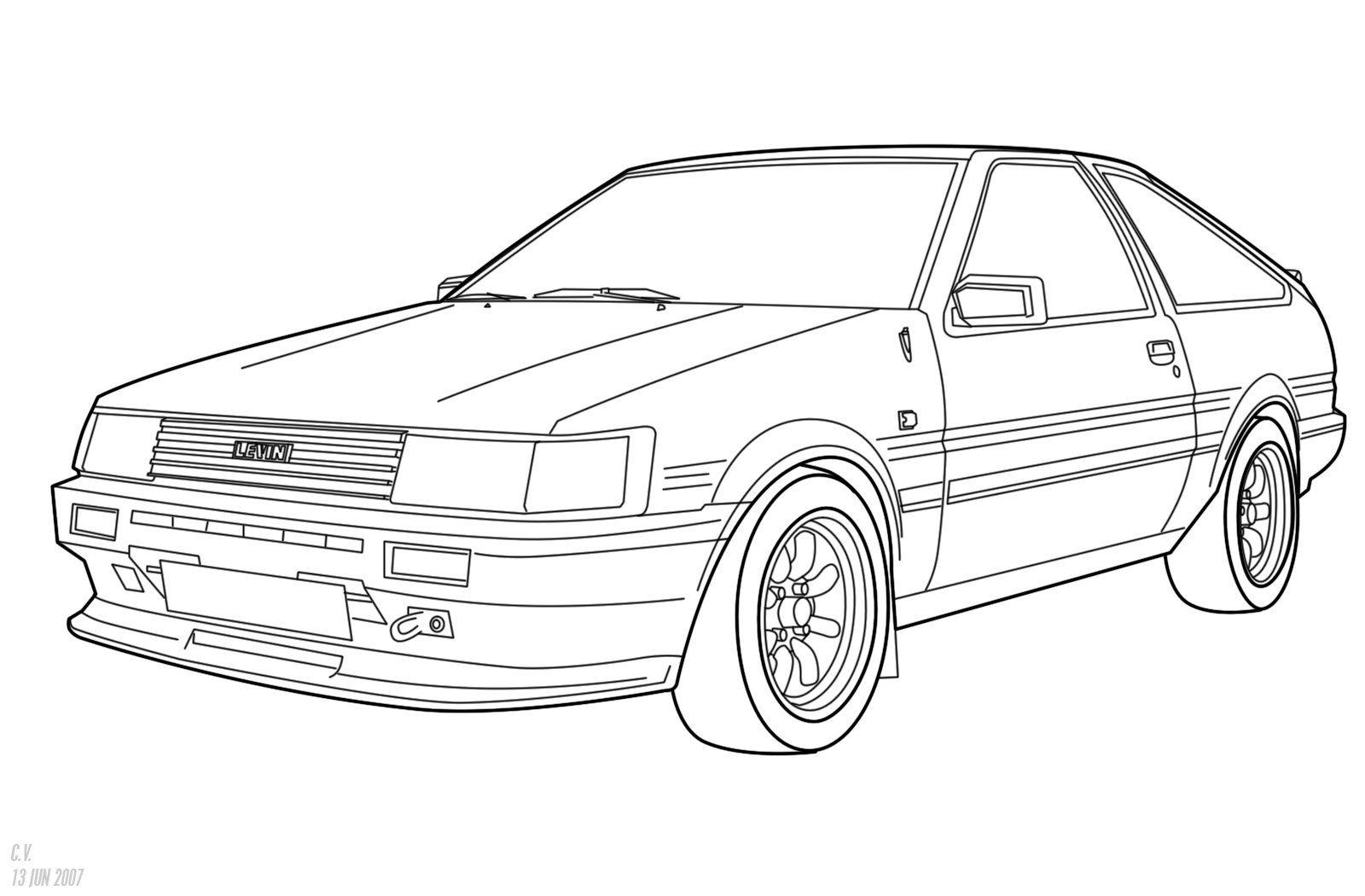 Draw A Drift Car