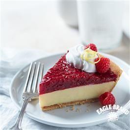 Raspberry Topped Lemon Pie Sweet Pie Lemon Pie Desserts
