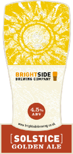 Image result for brightside brewery solstice gold