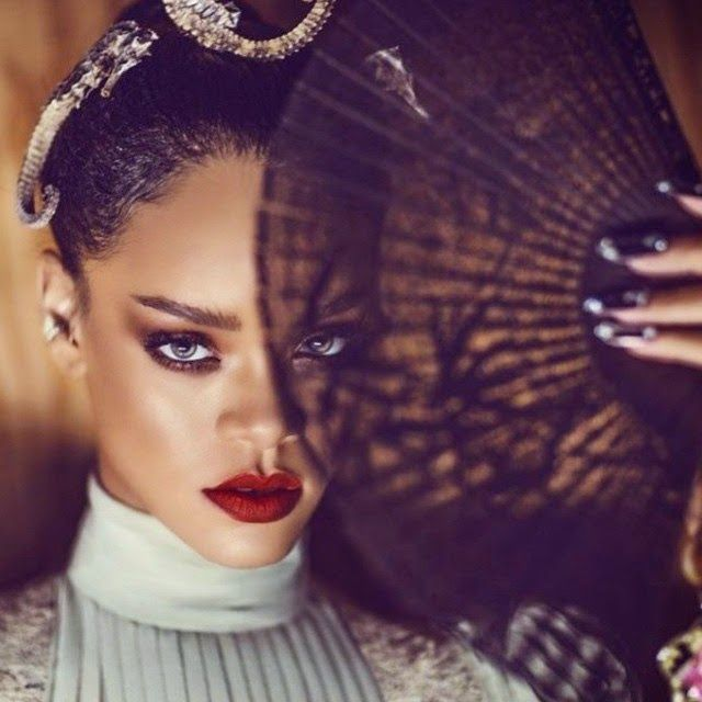 Rihanna takes More Breathtaking Photos for Harpers Baazar China