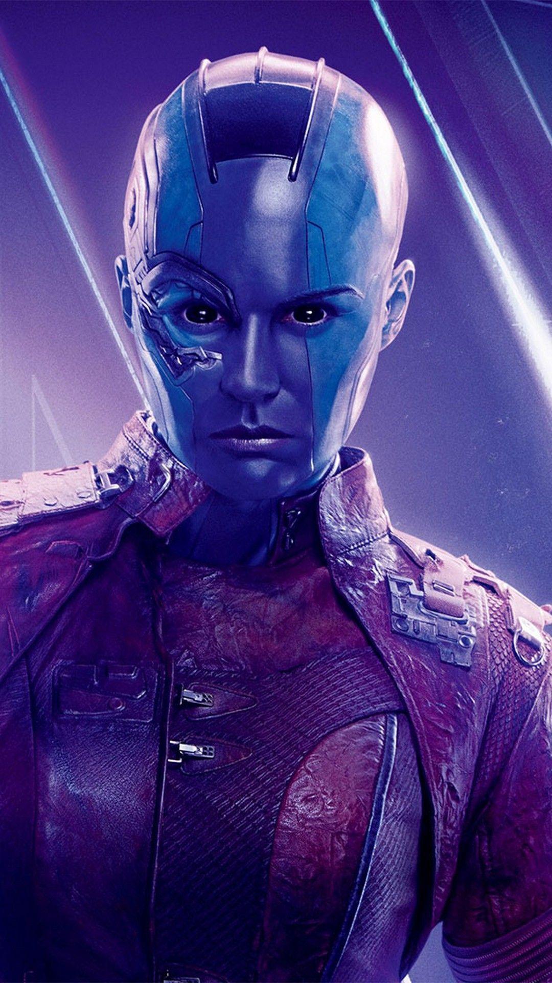 Nebula Avengers Endgame Iphone Wallpaper Marvel Movie Posters