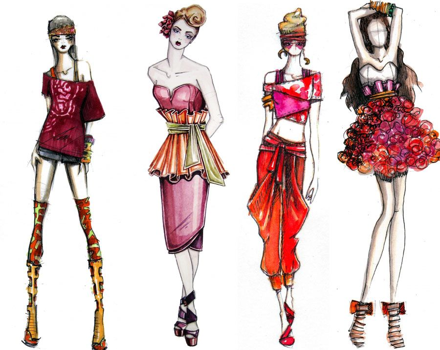 1000+ images about Fashion Illustrations on Pinterest | Fashion ...