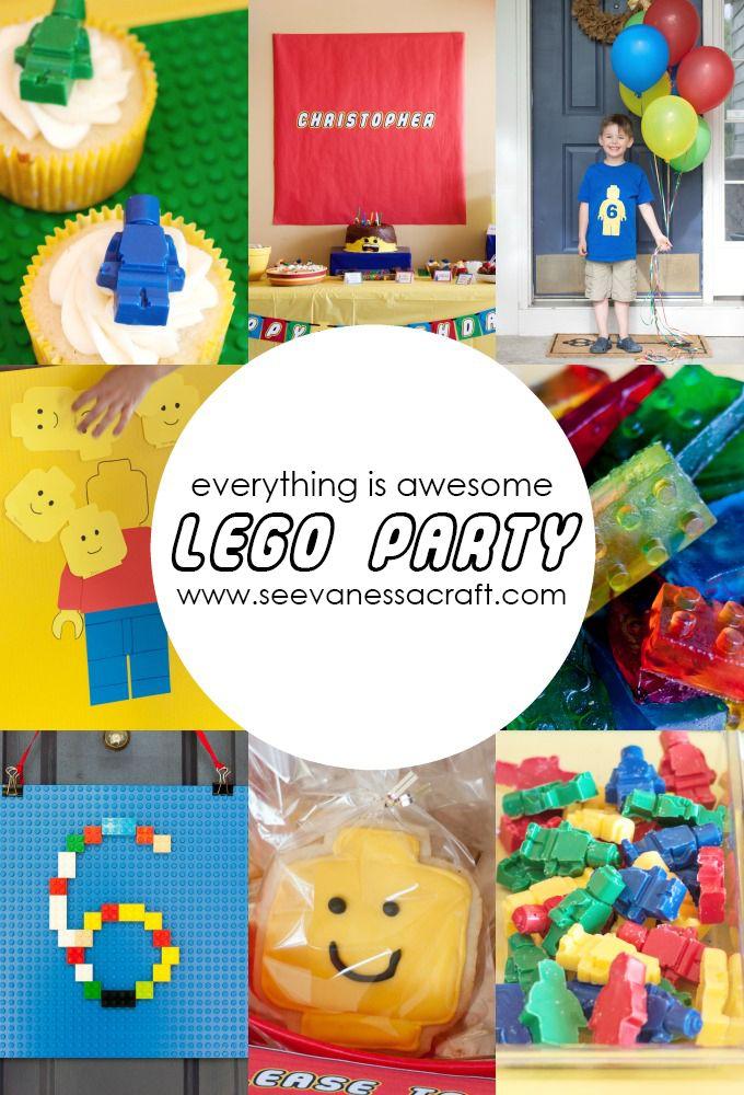 Party Lego 6th Birthday