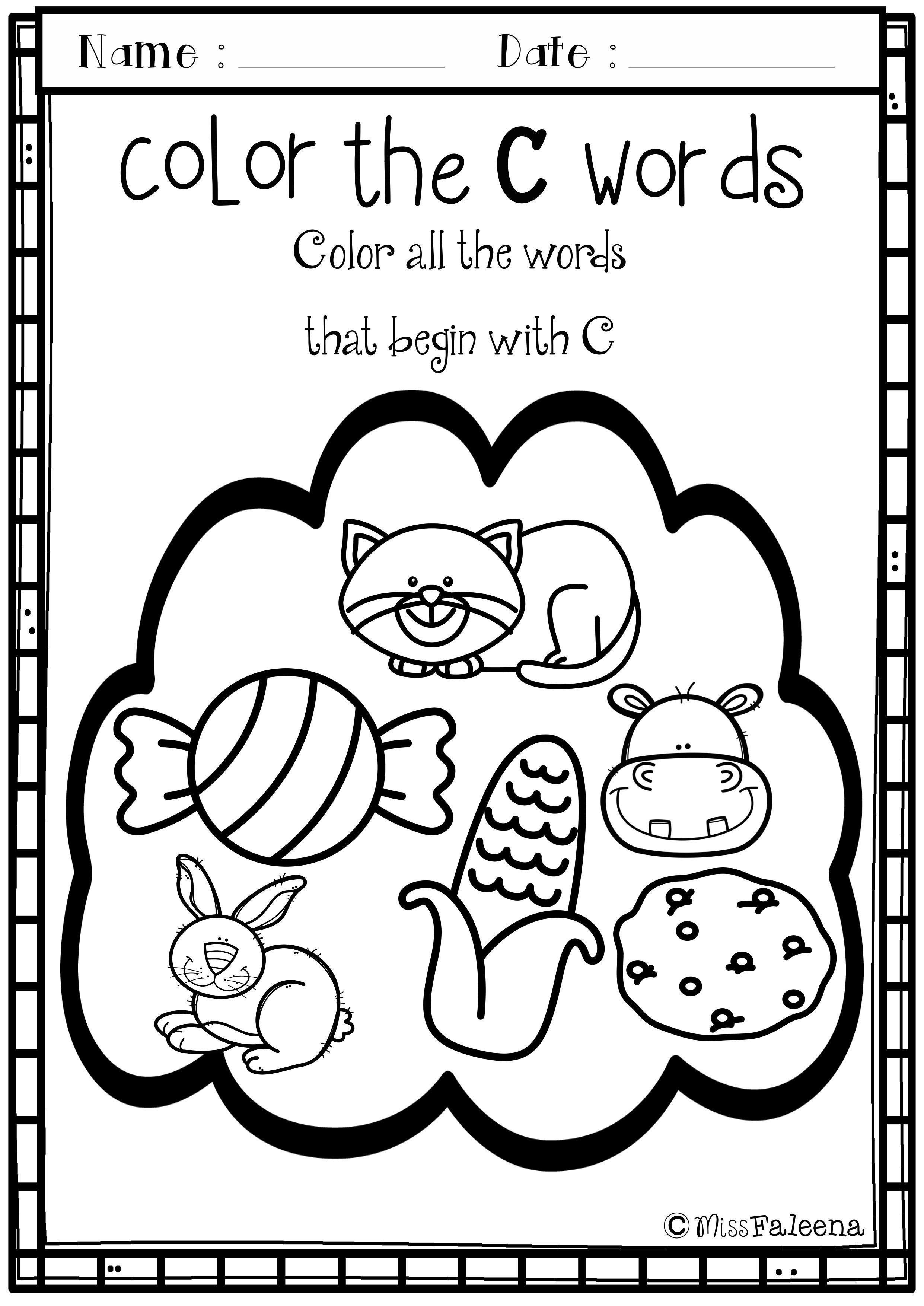 Awesome Letter Of The Week Worksheets That You Must Know