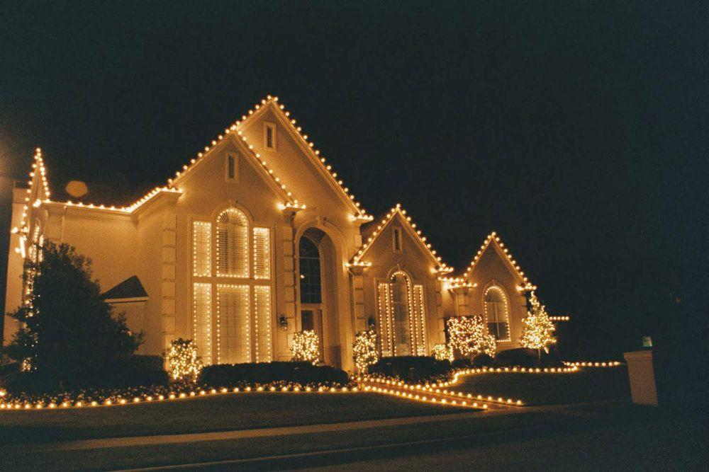 Residential Christmas Lights Outside Christmas House Lights Christmas Decorations