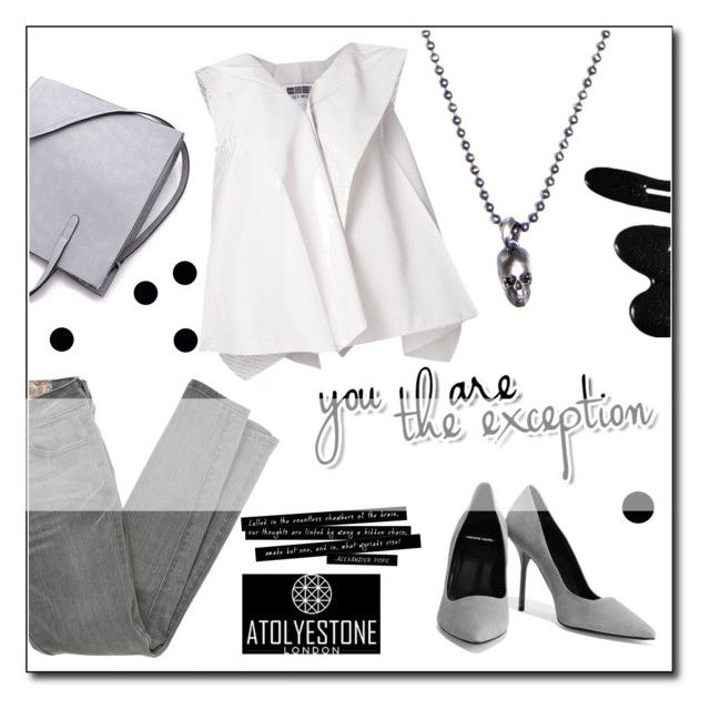 """Atolyestone"" by janee-oss ❤ liked on Polyvore featuring Siwy, Issey Miyake, Pierre Hardy, Clips and atolyestone"