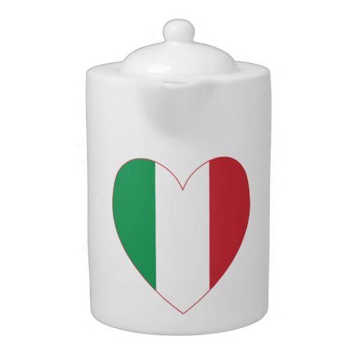 Italian Heart Flag