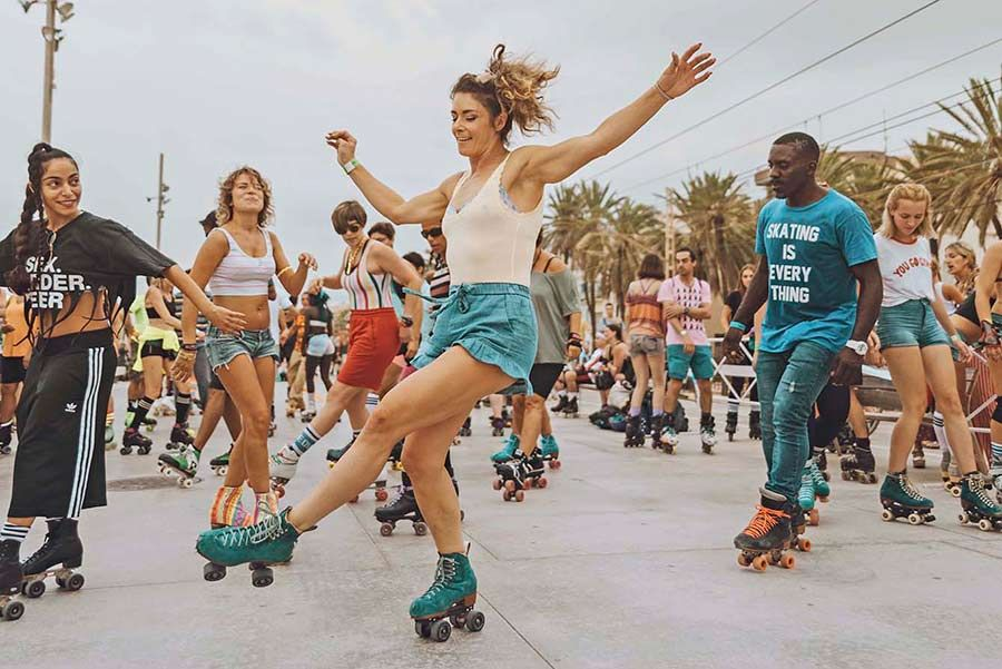 Skate Love Barcelona 2018 Photos Memories And Tons Of Inspiration Roller Skating Outfits Roller Skating Girls Roller Skates